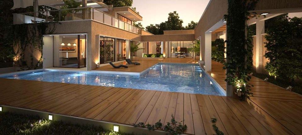 Deck y pisos de madera natural para exterior materia viva for Pisos deck de madera