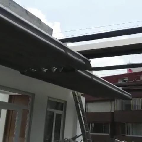 Estructura De Acero Con Toldo